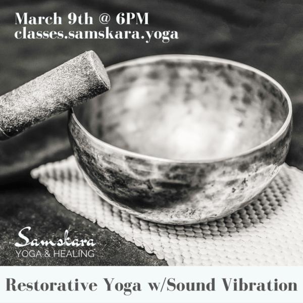 restorative yoga sound bath vibration dulles sterling ashburn