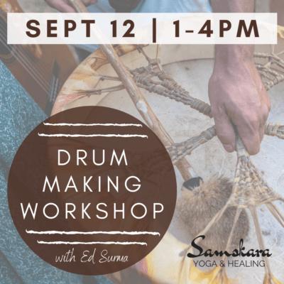 drum making DIY workshop elk deer loudoun ashburn dulles sterling va