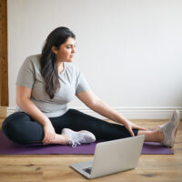online virtual accessible yoga classes workshops