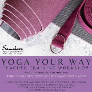 accessible inclusive yoga weekend ceu workshop
