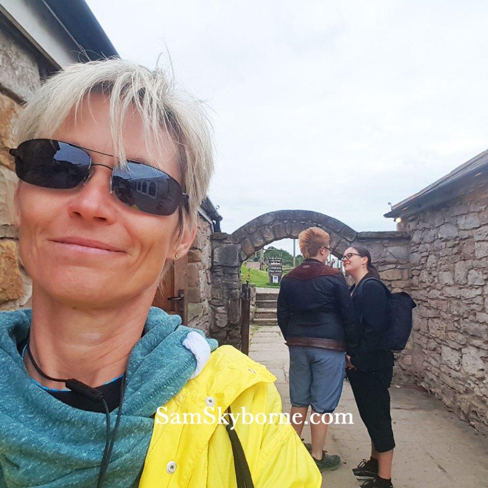 Sam Skyborne Selfie with two random fellow festival goers