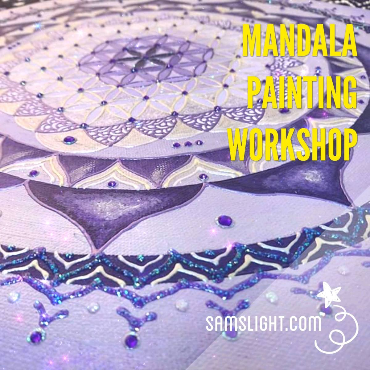 Mandala Art Jamming Workshop 曼陀羅自由繪畫班