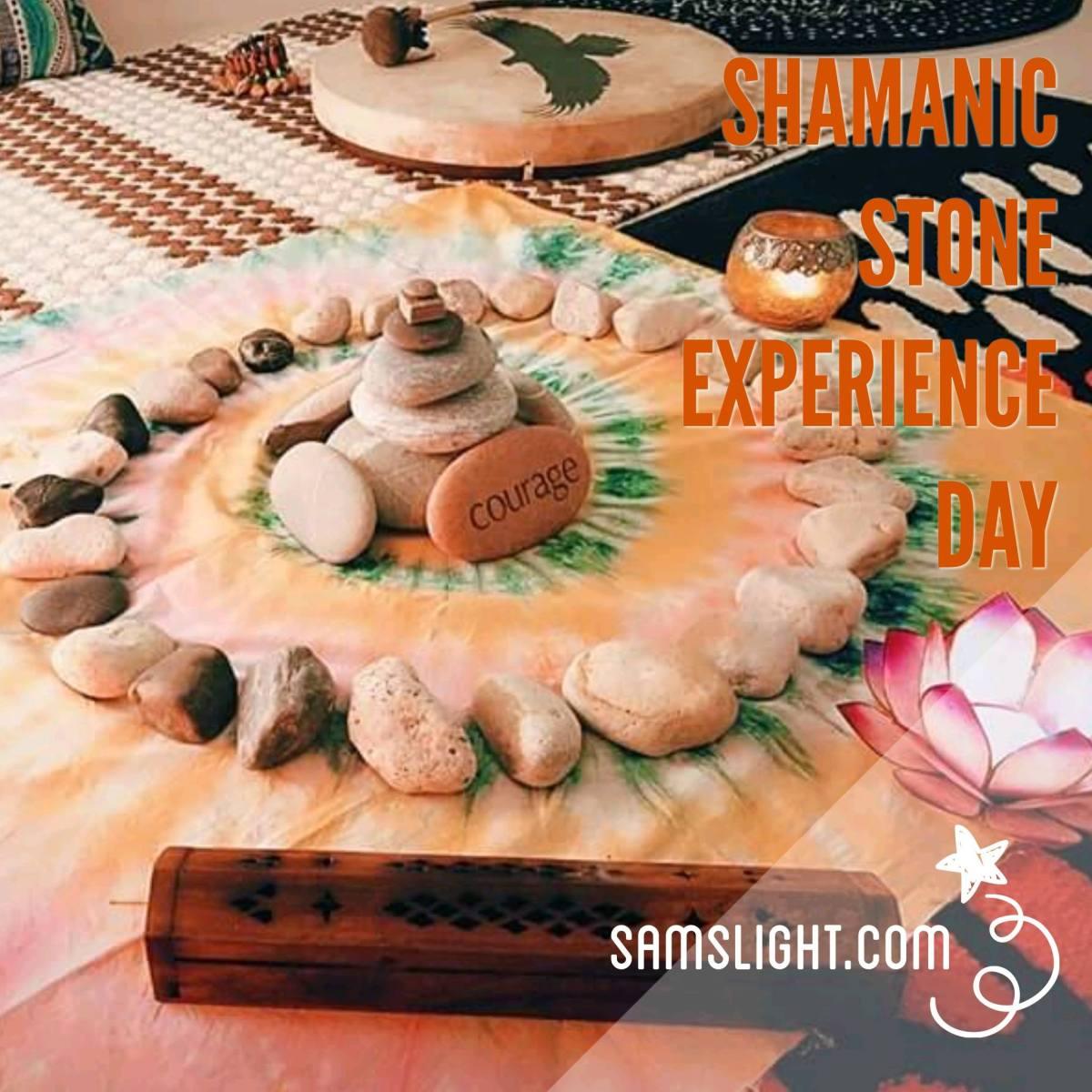 Shamanic 薩滿石頭占卜~ 2018生命藍圖閱讀 及 石頭治療體驗日