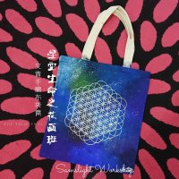 Galaxy Mandala Tote Bag Painting Workshop 星空曼陀羅布袋畫班