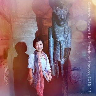 SamanthaYu-at-Egypt-with-Sekhmet