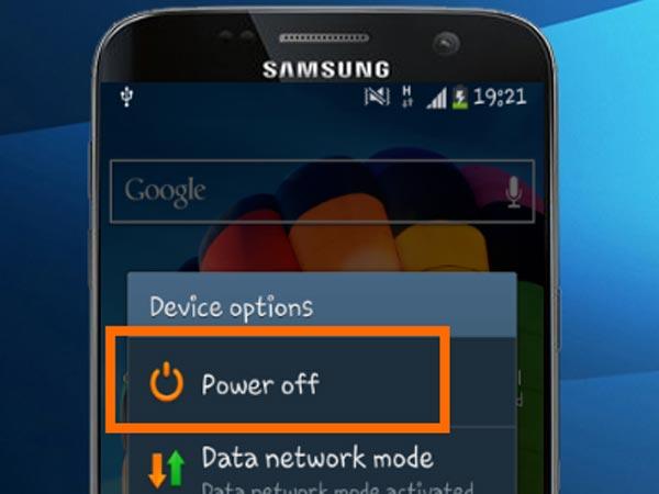 Samsung-ты қайта жүктеу