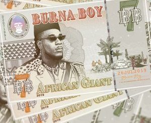 Burna Boy – African Giant [Official Tracklist & Cover Artwork]