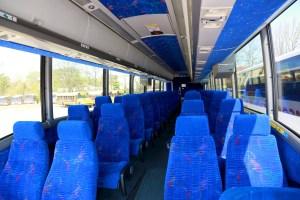 Samson Trailways Luxury Bus Interior