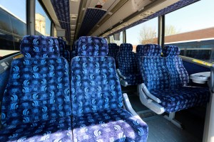 Luxury Charter Bus Interior