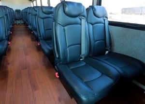 Samson Trailways Mini Bus Seats