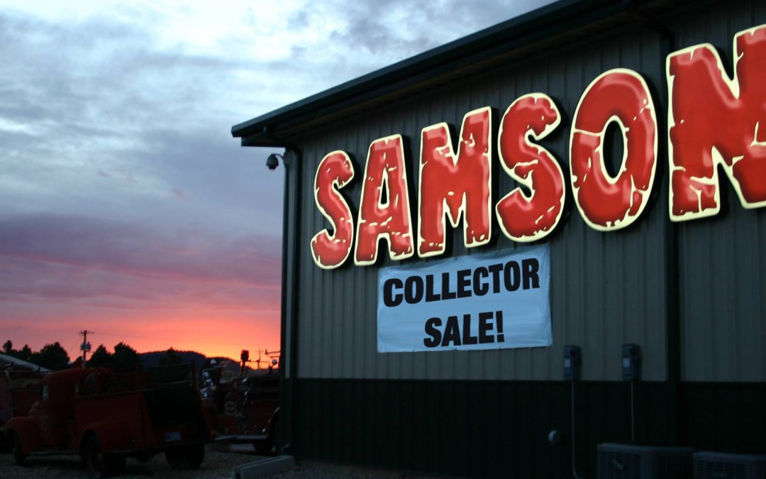 Huge Collector Sale at Samson Exhaust