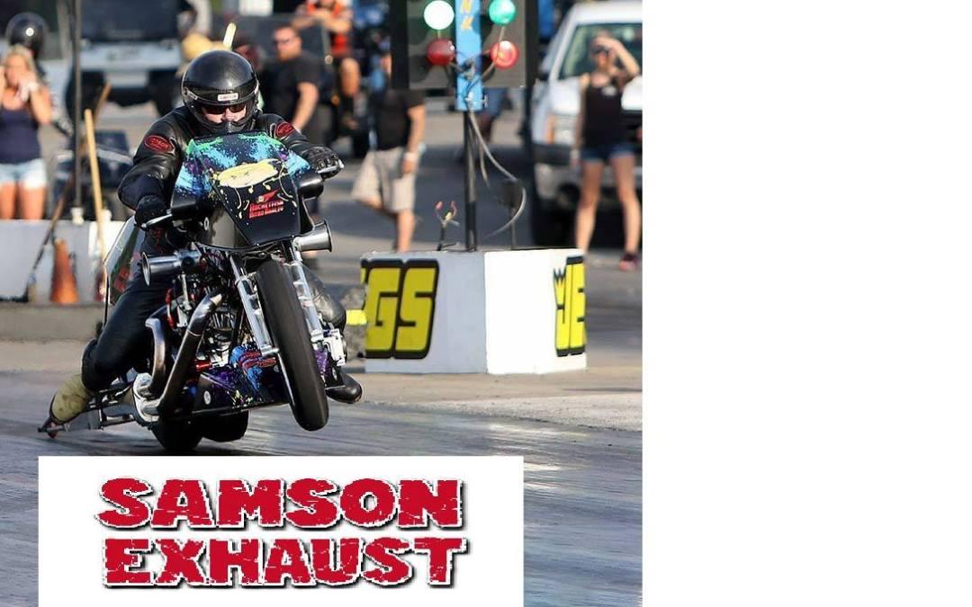 Samson Exhaust Goes Top Fuel Harley Racing