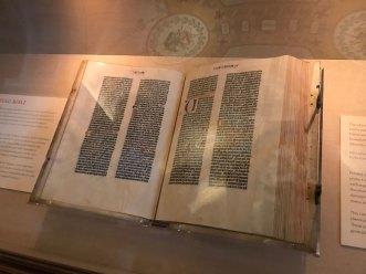 Gutenberg Bible - Library of Congress