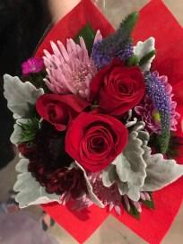 A lovely little bouquet from Panda