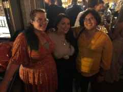 Kristen, Sarah & I at Takoda welcoming Claire & Adam