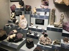 Flourite, galena, pyrite & calcite