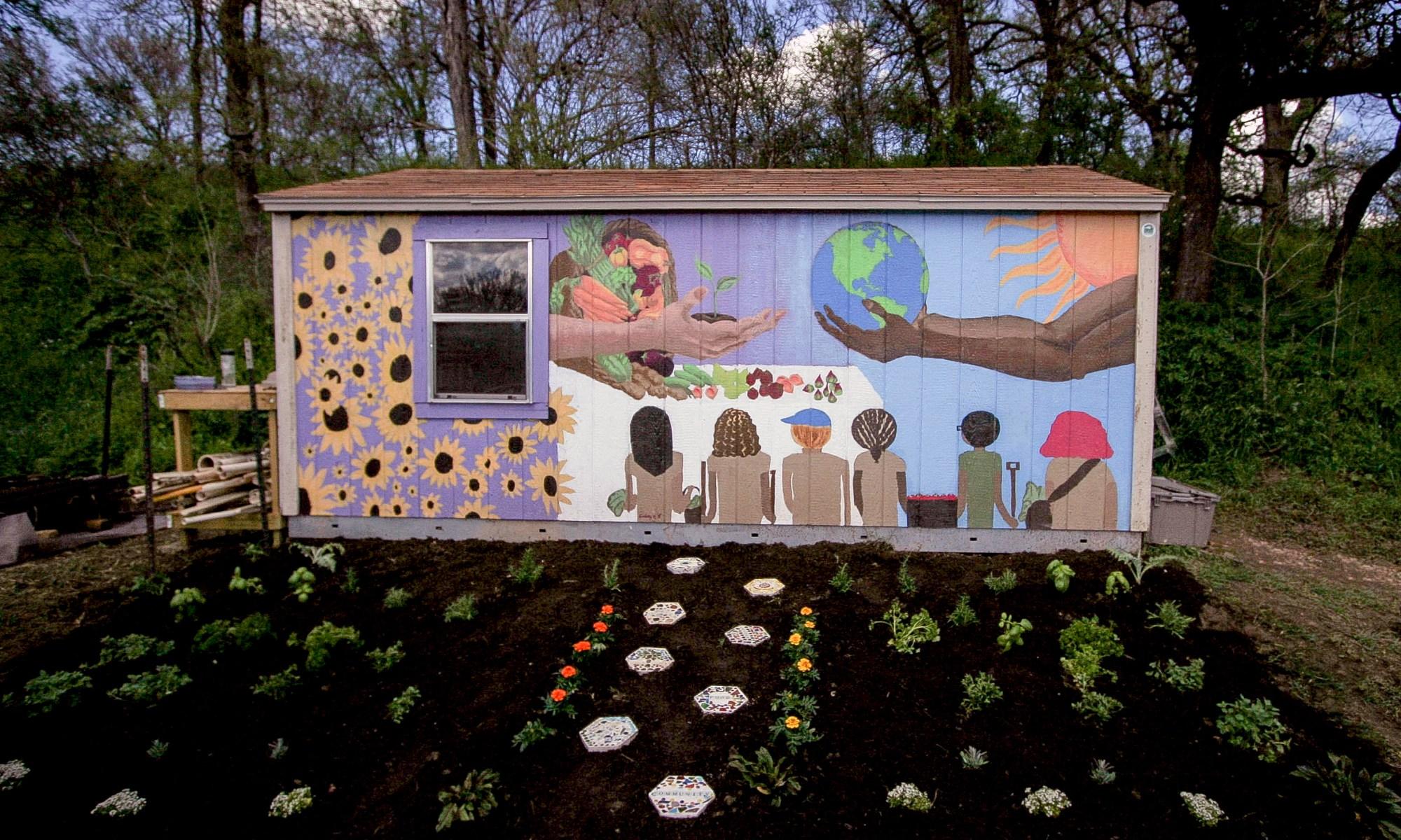 Urban Roots Mural