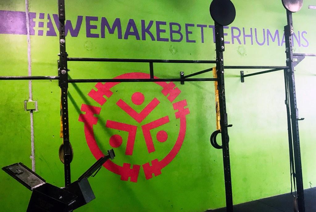 CrossFit REP Mural