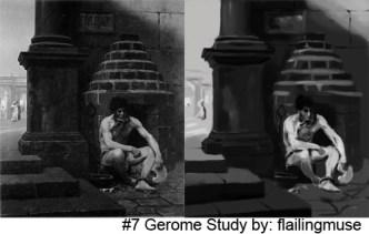 study and original 7 small