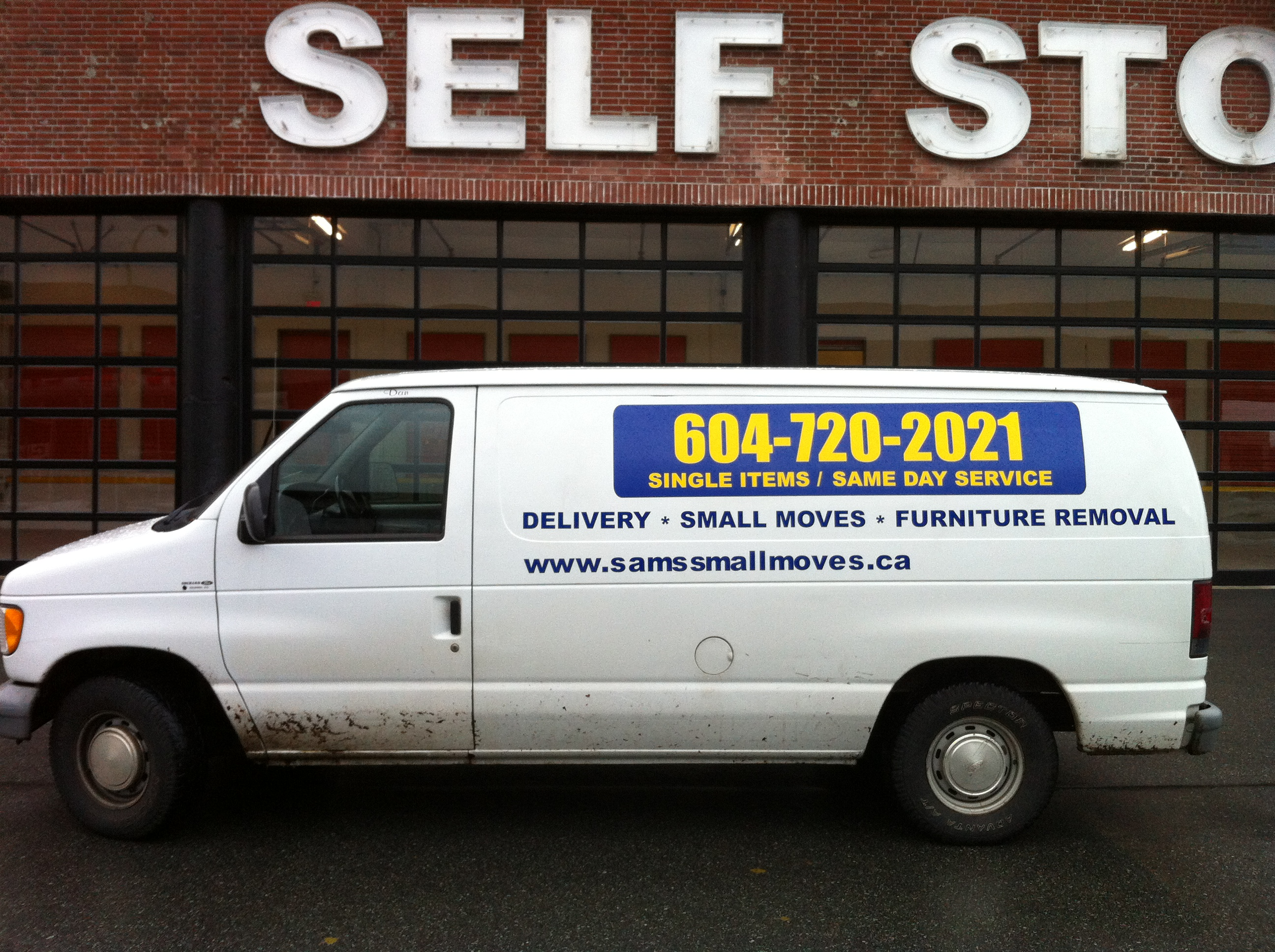 Self Storage In 750 Terminal Ave Vancouver Sam S Small Moves Ltd Cheap Delivery Small