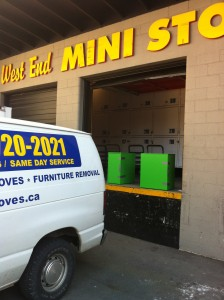 West End Mini Storage Vancouver - Small Moves - Vancouver Student Movers