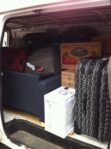 Small Loads, Baggage, Storage Containers Moving or Relocation Vancouver