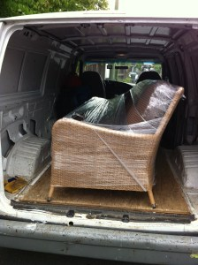 Patio Furniture, Outdoor Sofa, Furniture/Appliance Pickup and Delivery Service