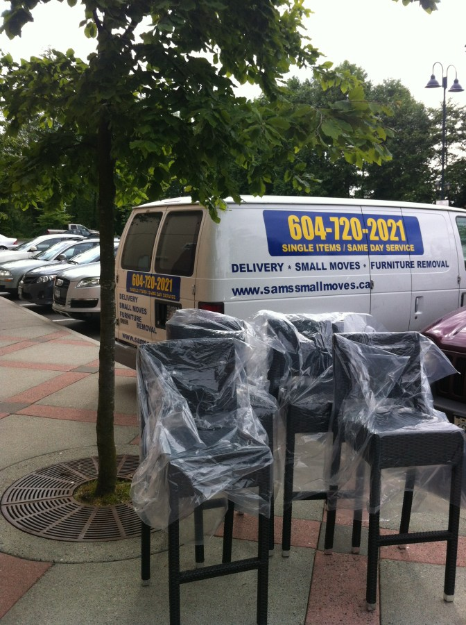 Same Day Furniture Delivery Services From HomeSense The Village At Park Royal In West Vancouver