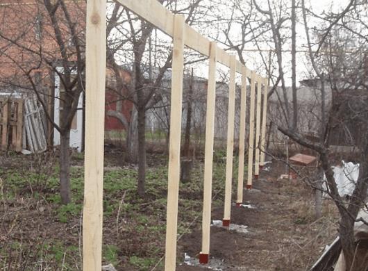 Деревянный забор-жалюзи своими руками 1 5 Строительный портал