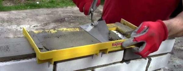 Как правильно класть облицовочный кирпич под расшивку 5 35 Строительный портал