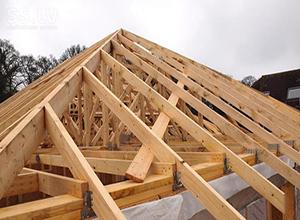 Пример готовой крыши