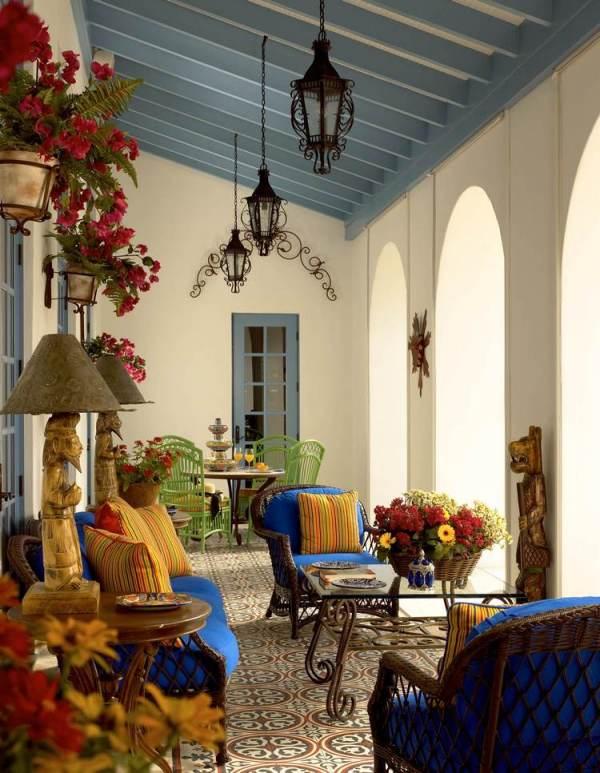 Красивые идеи дизайна лоджии - как украсить ваш экстерьер? 7 32 Строительный портал