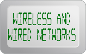 Wireless Networks and Wired Networks for personal home or business. No networking job is too big or small.