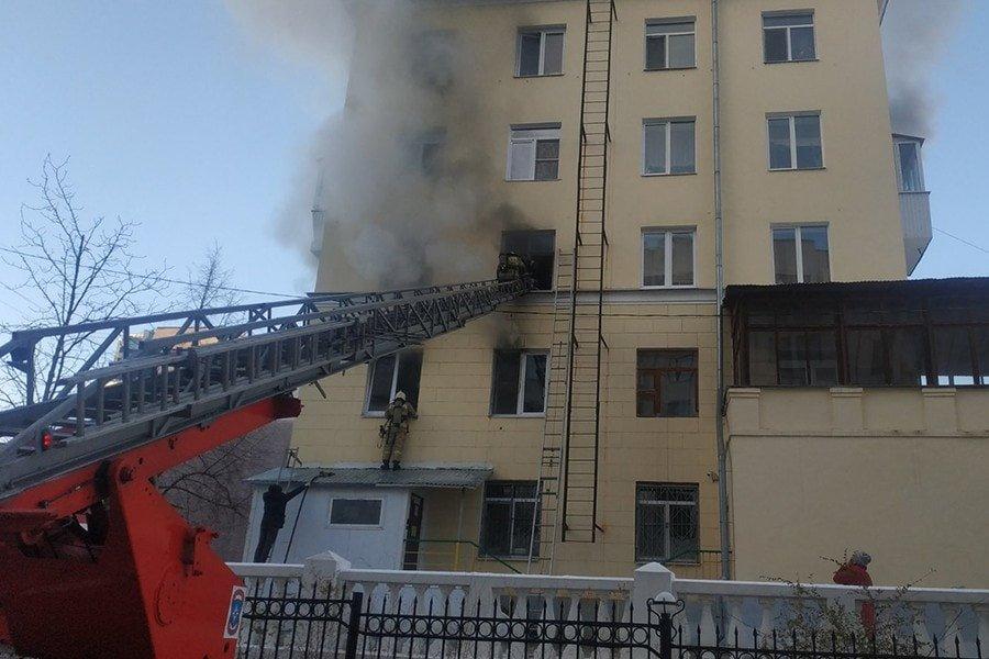 Пожар у Белого дома