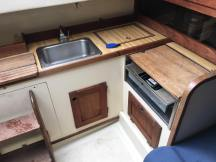 Galley (before demo)
