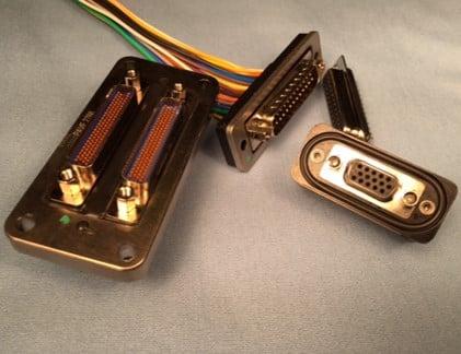 밀폐 D-SUB 커넥터