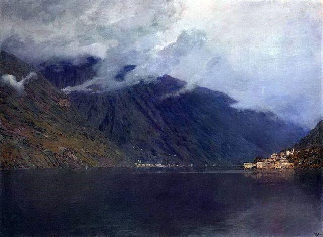 Левитан Озеро-Комо-1894