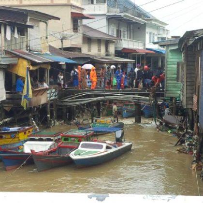 Penyempitan Sungai Diduga Jadi Penyebab Banjir Di Tarempa, SamuderaKepri