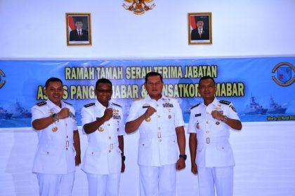 Pangarmabar Pimpin Sertijab Dua Jabatan Strategis Di Koarmabar, SamuderaKepri