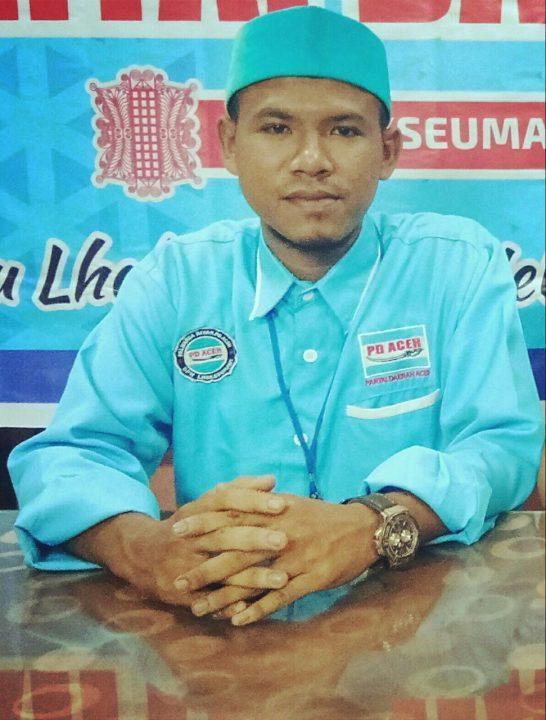 Muswil DPW Partai Daerah Aceh, Ini Tangapan Zarnuji Ketua DPK Partai Daerah Aceh, SamuderaKepri
