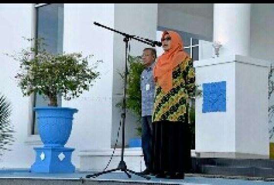 , Wakil Bupati Natuna Pimpin Apel Perdana, SamuderaKepri