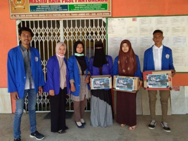 , Mahasiswa STIA Nasional Lhokseumawe, Galang Dana Untuk Lombok, SamuderaKepri