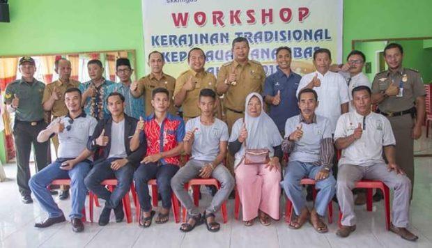 , Bupati Anambas Buka Workshop Kerajinan Tradisional Kepulauan Anambas, SamuderaKepri