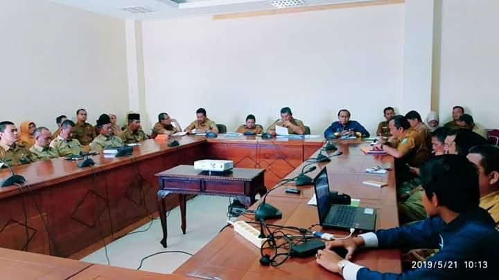 Pemerintah Kabupaten Kepulauan Anambas adakan rapat bersama BPS, SamuderaKepri