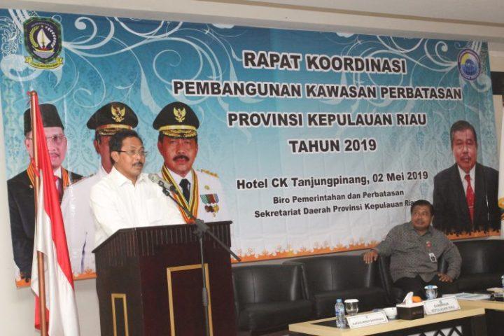 , Gubernur H Nurdin Basirun :  Jaga Garda Terdepan, Buat Maju dan Sejahtera, SamuderaKepri