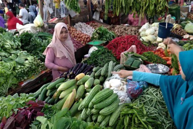 Harga Sayur-Mayur di Tanjungpinang-Kepri Meroket, SamuderaKepri