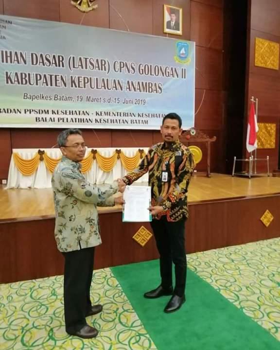 Sekretaris Daerah Kepulauan Anambas Tutup Latsar CPNS  Gol II, SamuderaKepri