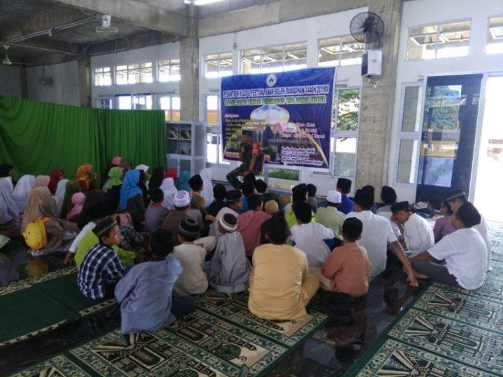 Babinsa Baloi Permai Melaksanakan Kegiatan Pesantren Kilat Di Sekolah SD Alkaffah