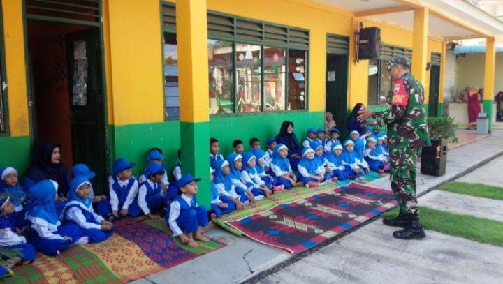 Serda Suratmin Melaksanakan Komsos Dengan Murid TK Nurul Yaqin, SamuderaKepri