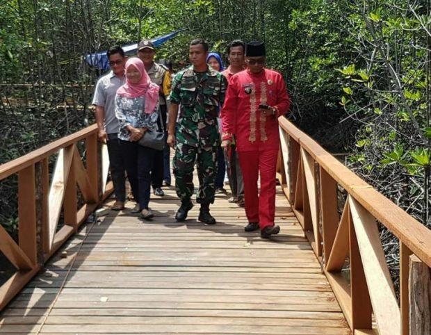 Dorong Perekonomian Masyarakat, Desa Batu Ampar Kec. Palmatak Kembangkan Objek Wisata Mangrove